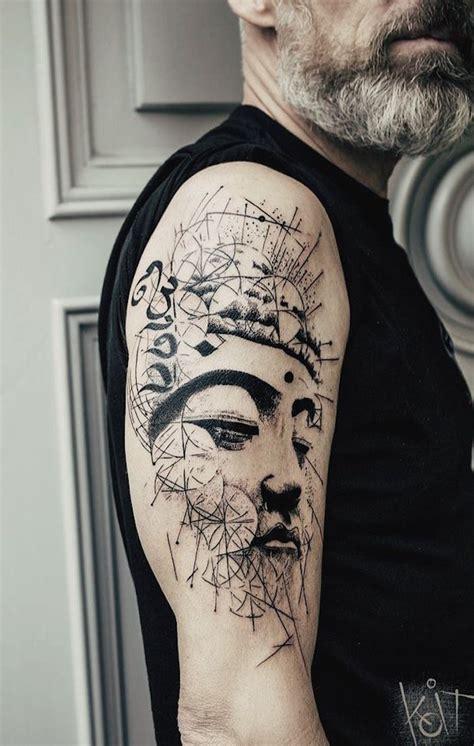 1001+ Idées  Tatouage Symbole Bouddhiste  Empreint De