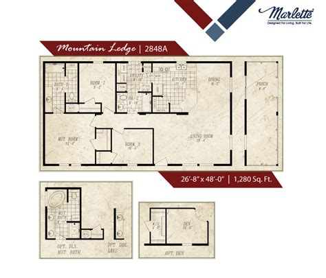 Marlette Homes Floor Plans by Columbia Manufactured Homes Marlette Manufactured Homes