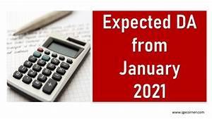 Expected, Da, From, January, 2021, Calculator