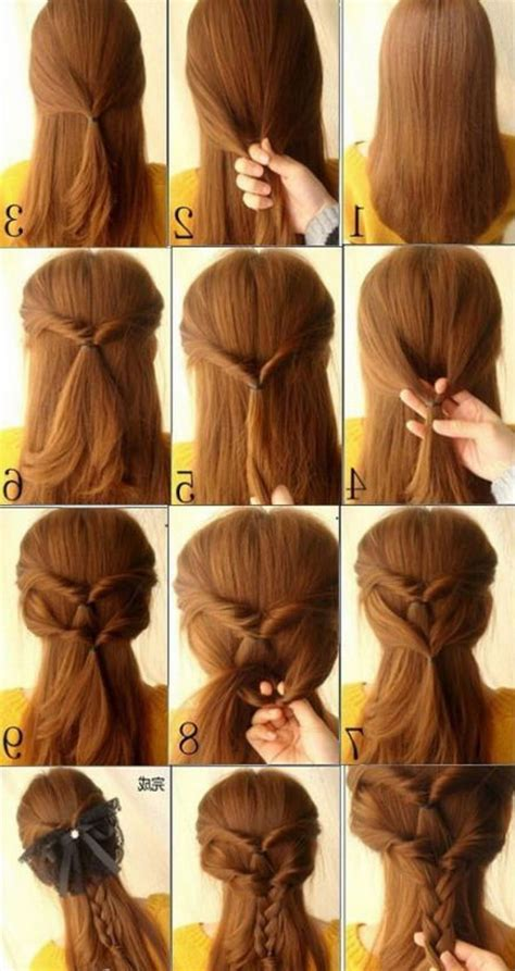 cute simple hairstyles long hair hairstyle  women man