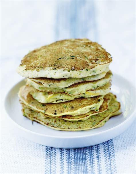 recette de cuisine courgette pancakes de courgettes et ricotta pour 4 personnes