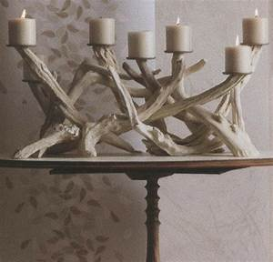 driftwood candelabra contemporary candleholders With best brand of paint for kitchen cabinets with natural crystal candle holders