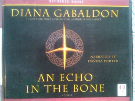 An Echo In The Bone (part 1) (diana Gabaldon)  Used Books