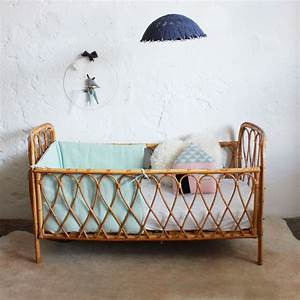 Lit Enfant Rotin : lit b b rotin vintage e378 lit bebe rotin et lits ~ Teatrodelosmanantiales.com Idées de Décoration