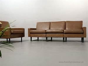 Couch 3 Sitzer Leder : sold cor conseta leder 3 sitzer sofa ~ Bigdaddyawards.com Haus und Dekorationen