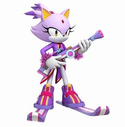 Sonic Mario Olympic Games Winter Blaze Cat