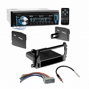 Boss Bluetooth Car Radio Stereo Dash Kit Harness For 2004