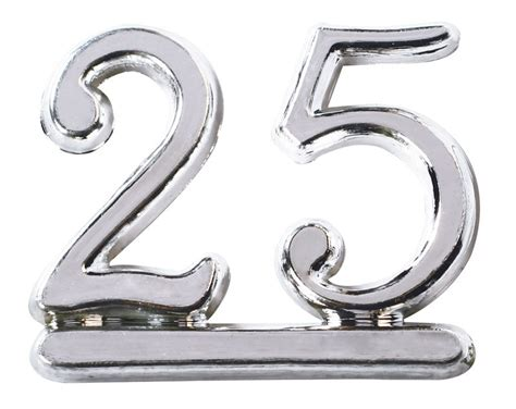 home design for dummies design a cake plastic number 25 silver
