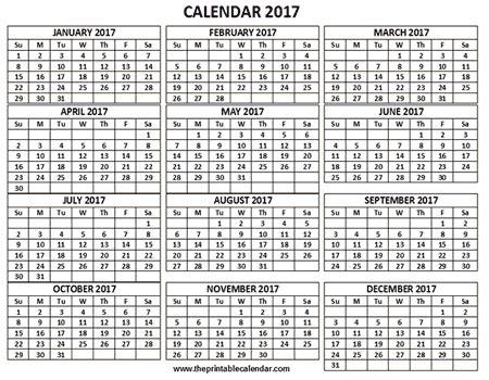 12 month calendar template 2017 12 months calendar printable calendar template