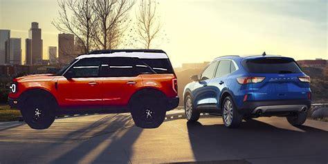 ford escape crossover design baby bronco suv coming