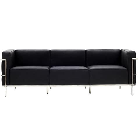 le corbusier style lc sofa leather