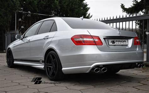 Mercedes benz e class (w212 2013) e350 fuel consumption (economy), emissions and range. Prior Design Mercedes E-Class W212