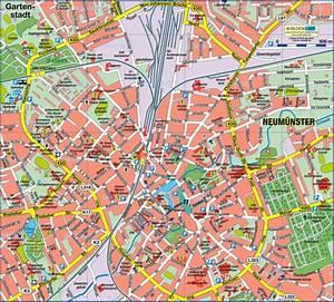Neumünster Deutschland : karte von neum nster stadt in deutschland schleswig holstein welt ~ A.2002-acura-tl-radio.info Haus und Dekorationen