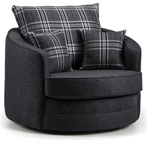 chilli swivel cuddle chair