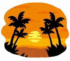 ハワイ イラスト 無料 に対する画像結果
