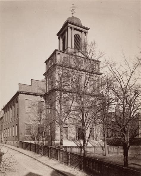 Old West Church, Boston - Lost New England