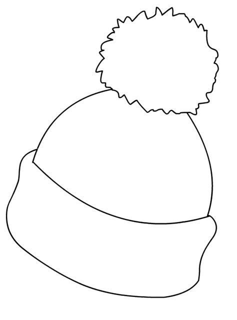 hat coloring pages  coloring pages  kids winter crafts  kids winter crafts