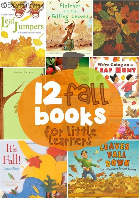 12 fall books for learners fallen book and books 391 | a68cdc62e81c380502d7b38367483844 preschool books book activities