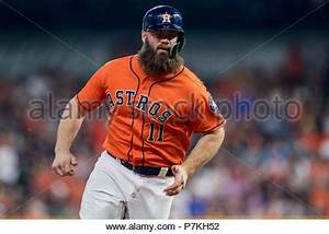 Houston, TX, USA. 6th July, 2018. Houston Astros mascot ...