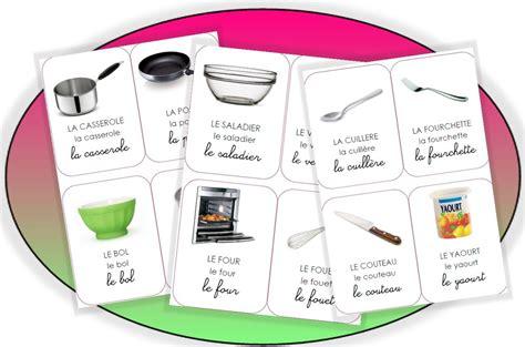 ecole de cuisine de gratuit imagier vocabulaire recette pédagogie langage imagier école et la cuisine