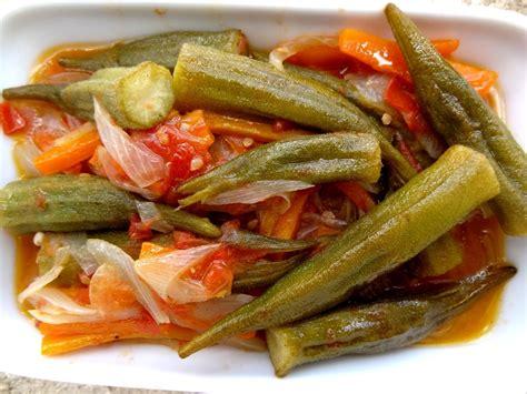 tendresse en cuisine recette de la salade aux gombos turquie la tendresse