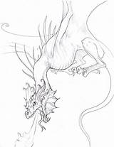 Wyvern Deviantart Coloring Pages Tattoo Hibbary Dragon Drawings sketch template