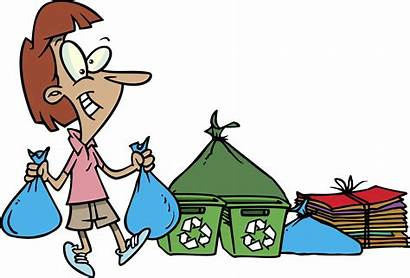 Waste Disposal Clipart Proper Trash Recycling Clip