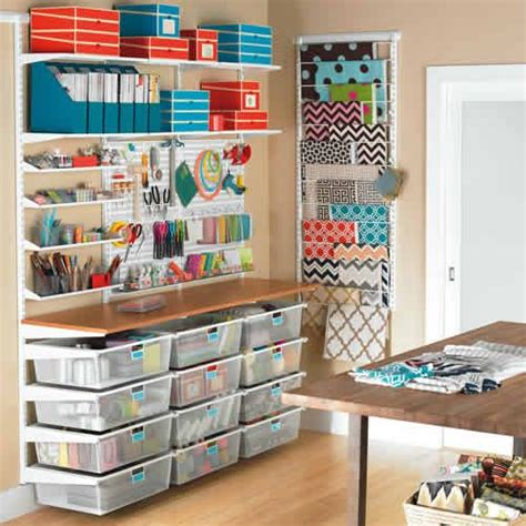craft room elfa storage solution for your