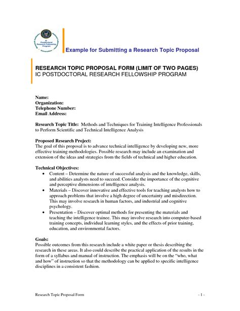 Example Of Research Question In Research Proposal Teacher Personal