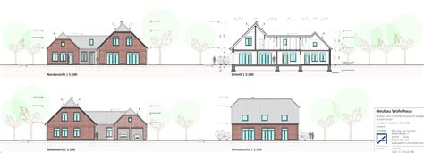 Garage Goch by Einfamilienhaus Mit Garage In Goch Architekturb 252 Ro