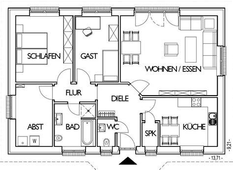 bungalow bauen grundriss
