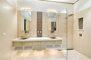 houzz bathroom ideas Bathroom Contemporary with beige tile