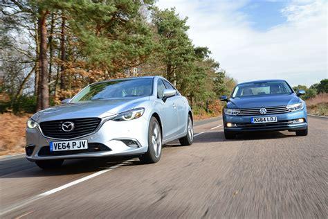Mazda 6 Vs Vw Passat  Auto Express
