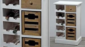 Meuble Range Bouteille : meuble range bouteilles et casiers ~ Teatrodelosmanantiales.com Idées de Décoration