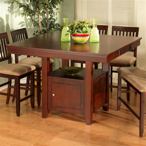 new classic brendan storage pub table sol furniture
