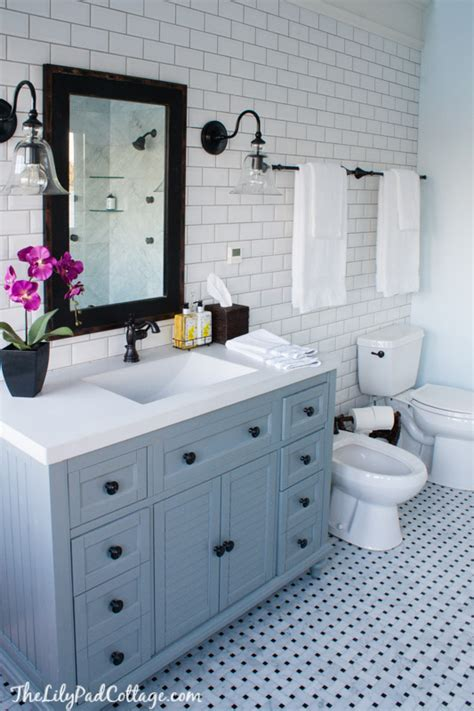 Top Photos Ideas For Cottage Bathroom by Master Bathroom Reveal Parent S Edition The Lilypad
