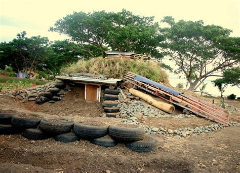 Lowcost Survival Shelter Earthship  Living Big In A Tiny