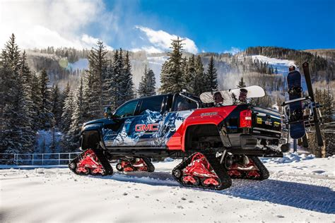 GMC Car : Gmc Sierra All Mountain Concept Laughs In The Face Of Snow