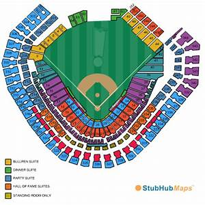 Globe Life Park In Arlington Seating Chart Pictures