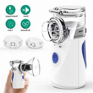 Portable Ultrasonic Handheld Nebulize Inhaler Respirator