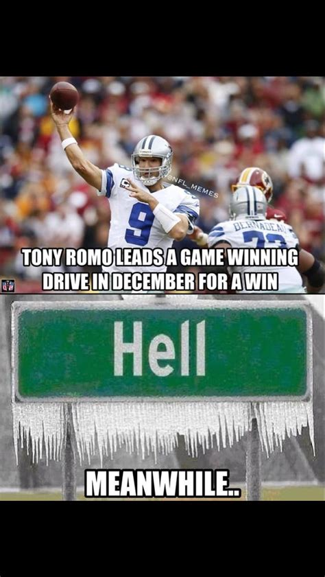 Funny Tony Romo Memes - 82 best cowboys suck images on pinterest football stuff sports humor and workout humor