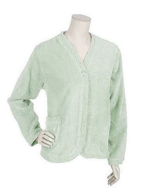 chenille bed jacket product gallery