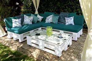 Sitzecke Aus Paletten : sitzecke aus paletten outdoor sofa pallettenm bel garten m bel aus paletten und paletten garten ~ Watch28wear.com Haus und Dekorationen