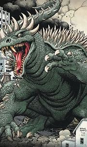 Anguirus   Godzilla comics, Godzilla, Kaiju art