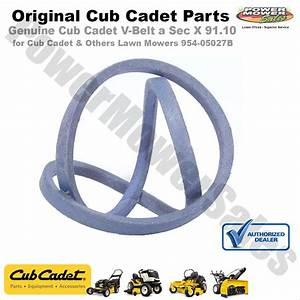 35 Cub Cadet Xt1 Belt Diagram