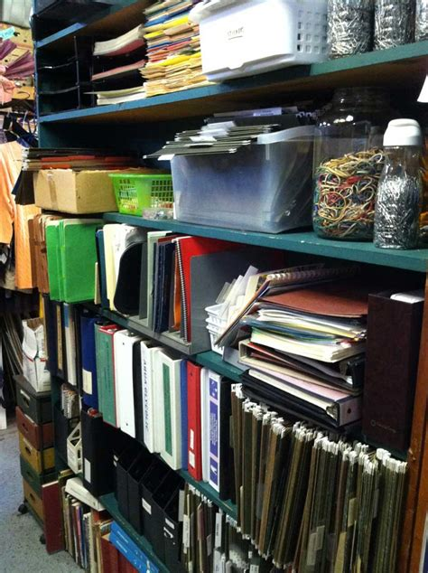 Office Supplies Used office school supplies thrift store salvage store