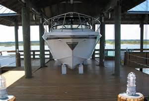 Covered Boat Dock Lift