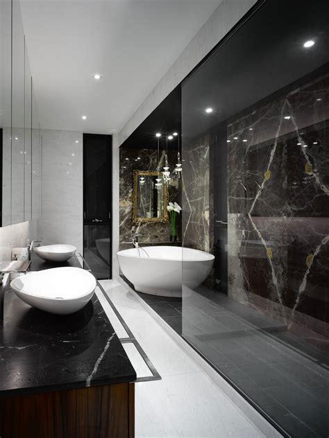 modern custom home  central atrium  interior bamboo garden idesignarch interior