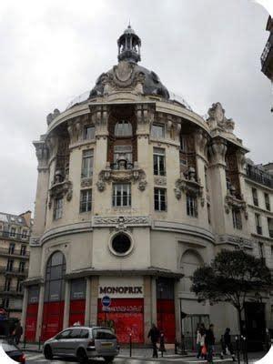 siege social monoprix le charme architectural de la rue réaumur à voir