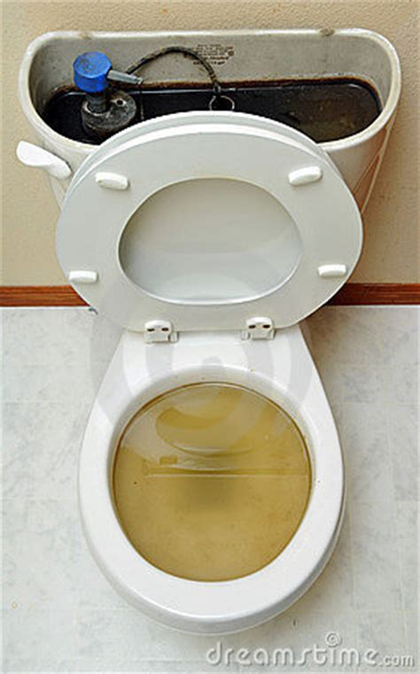 Overflowing Broken Toilet Royalty Free Stock Photo Image